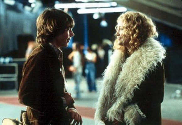 cream white coat almost famous penny lane movie fur jacket kate hudson kate hudson 70's