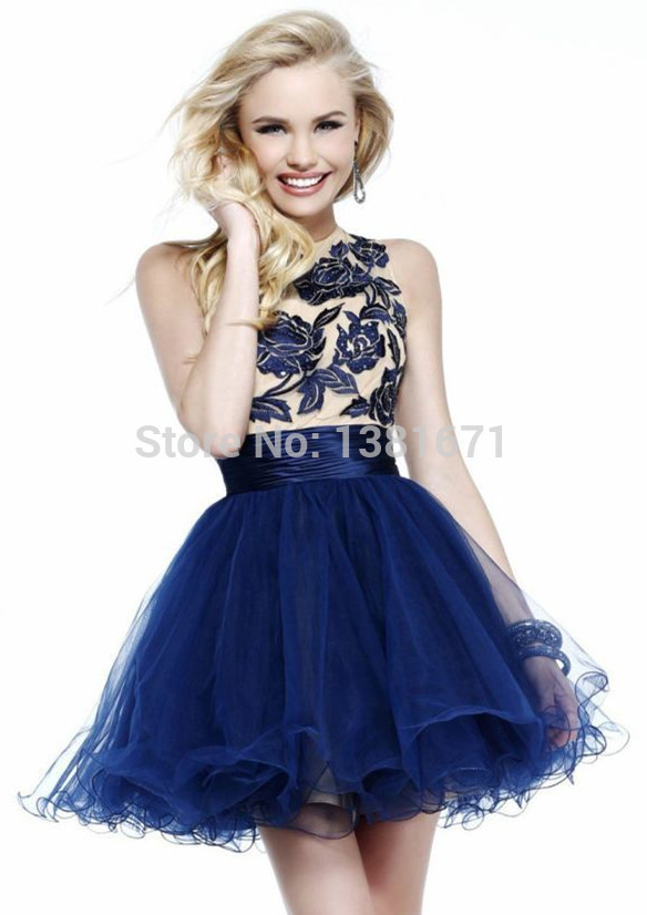 Aliexpress.com : Buy Floral Lace Applique Soft Layered New Coming Prom Cocktail Dress 2014 from Reliable dress invitations suppliers on Aojia Top Evening Dress