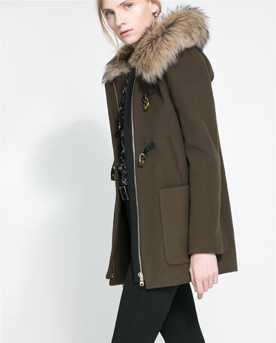 Duffle Coat Fur | Down Coat