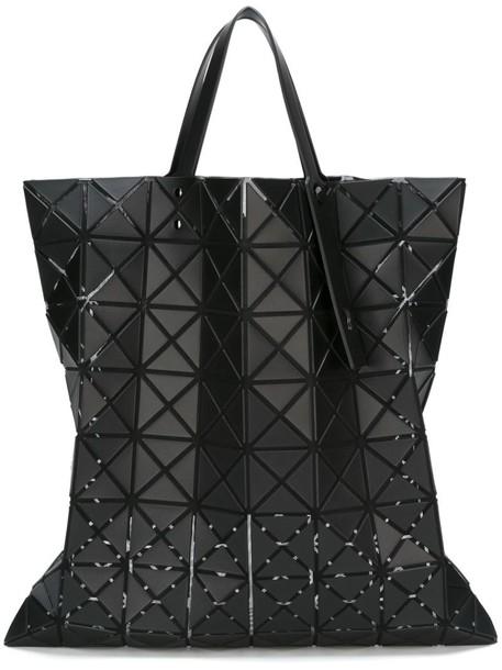 women geometric black bag