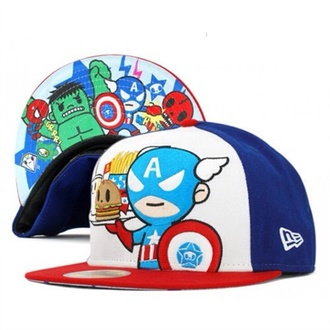 marvel snapback cap