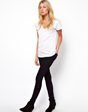 ASOS | ASOS T-Shirt with V Neck at ASOS