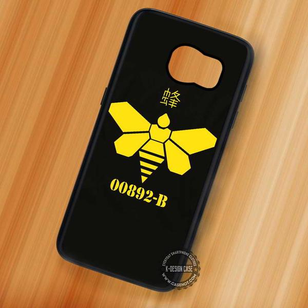 Breaking Bad Methylamine Bee - Samsung Galaxy S7 S6 S5 Note 7 Cases & Covers