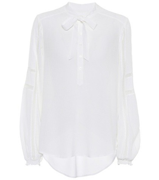 Veronica Beard blouse white top
