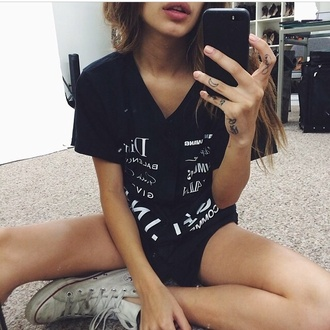 blouse baseball jersey designer names shirt black dior balenciaga givenchy brands designers