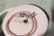 jewels,these charms and bracelet from.,pandora