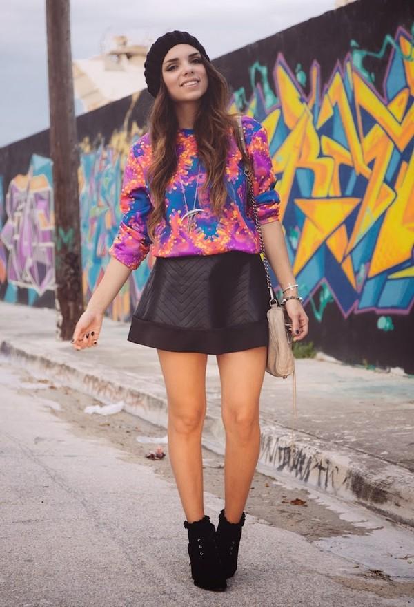 nany's klozet sweater skirt shoes bag hat jewels jeans sunglasses belt