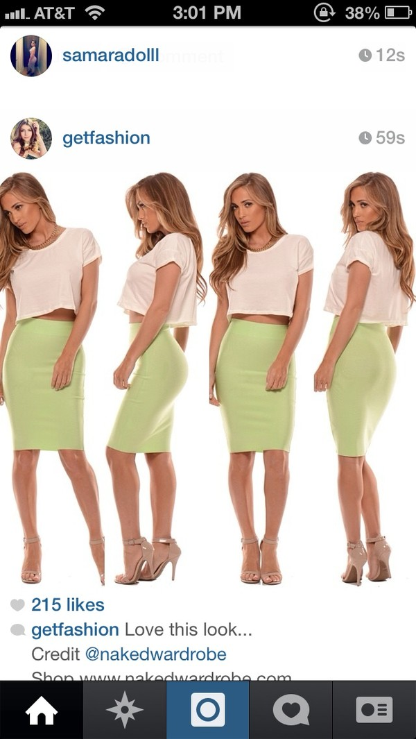 skirt green pencil skirt midi skirt clothes shoes
