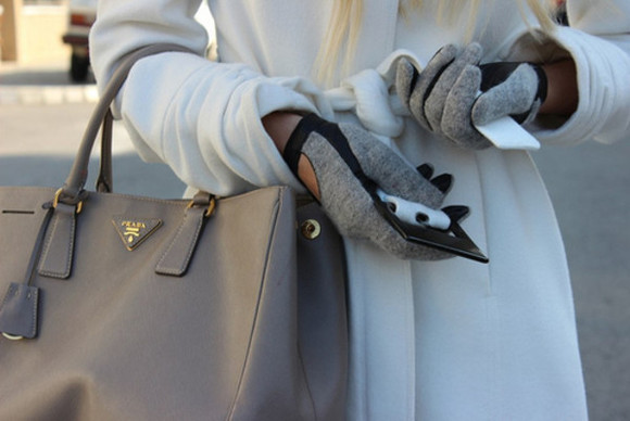 gloves grey gloves scarf lether gloves