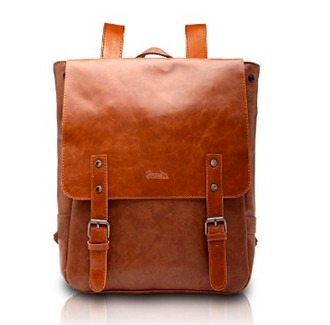 bag vintage leather backpack leather backpack