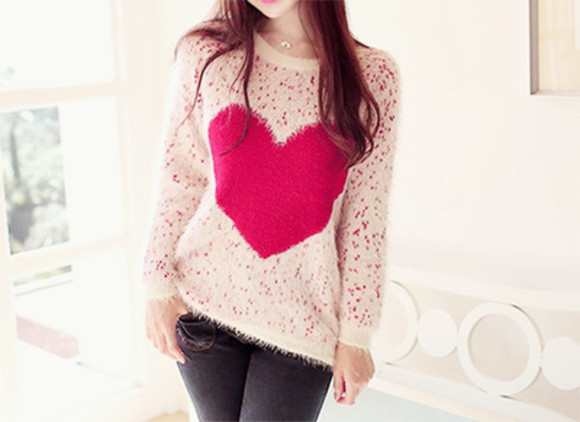 heart clothes style chic
