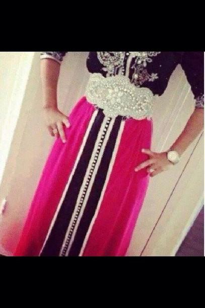 dress caftan dress