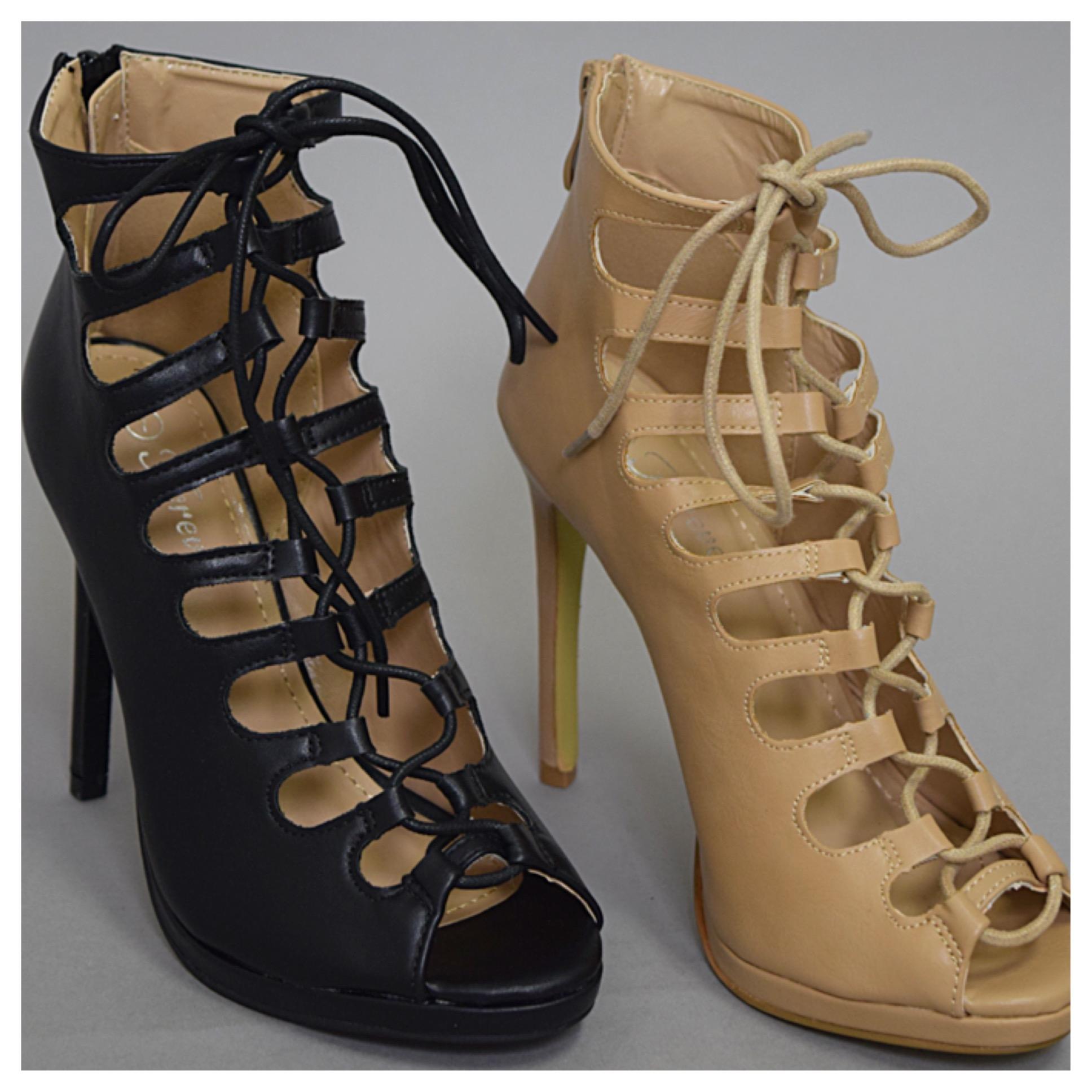 All :: shoes :: vivi lace up heels