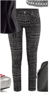 pants,geometric patterned pants