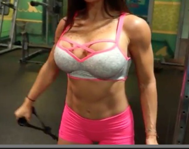 top workout top