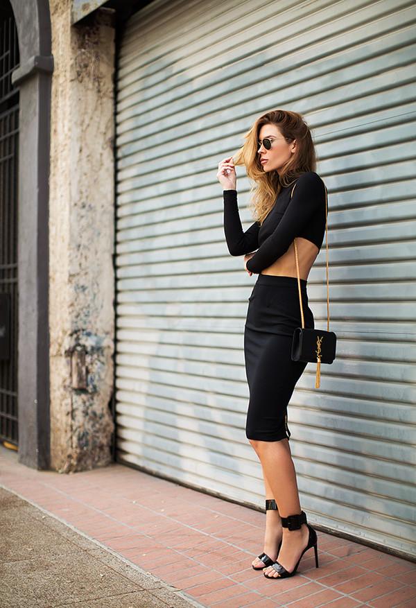 blogger sunglasses bag
