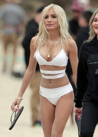 swimwear bikini pia mia perez top bra underwear elite fashion swimwear one piece swimsuit meriell swimwear white