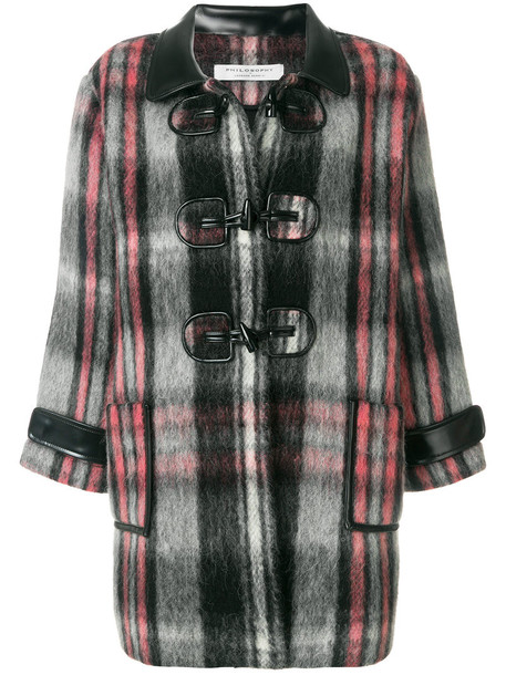 Philosophy di Lorenzo Serafini coat oversized coat oversized women cotton wool