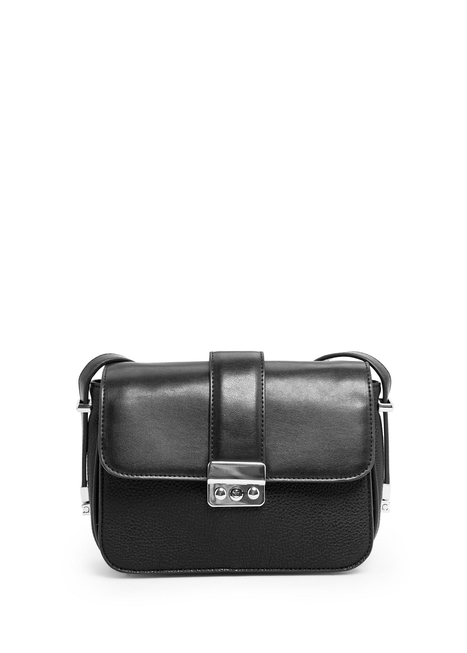 Pebbled cross body bag - Bags for Women | MANGO