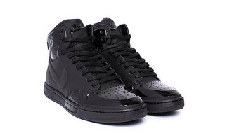 shoes black nike leather kicks nike air force air jordan coat dress hair accessory