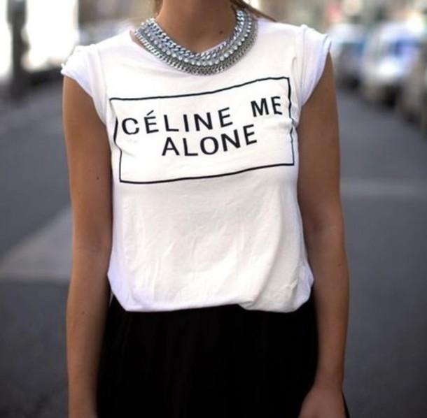 t-shirt celine t-shirt