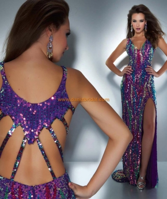 Mac Duggal 3744A - $398 In Stock | Free Shipping| 2014 Collection