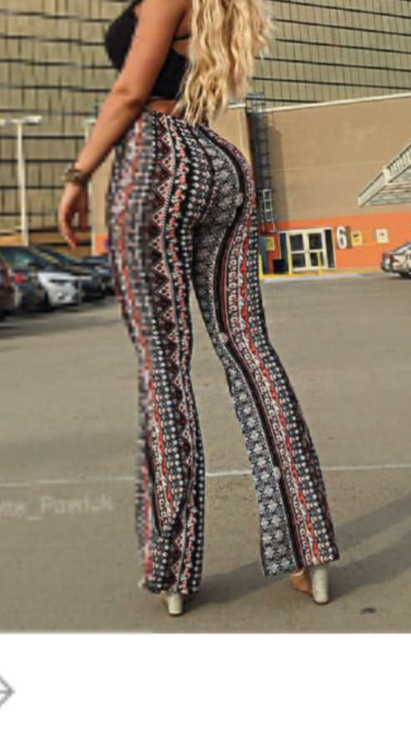 Pants Aztec Flare Pants Flare Bottoms Flare Bottoms