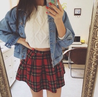 skirt skater skirt plaid skirt plaid skater skirt sweater