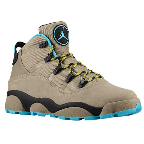 9f78acaeac8e6b Jordan 6 Rings Winterized - Men s - Basketball - Shoes - Khaki Black Varsity  Maize Gamma Blue