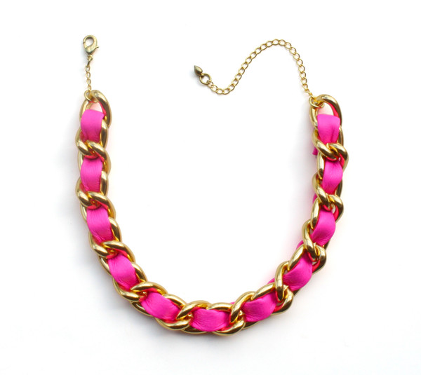 jewels choker necklace jewelry neon pink choker necklace jewelry necklace