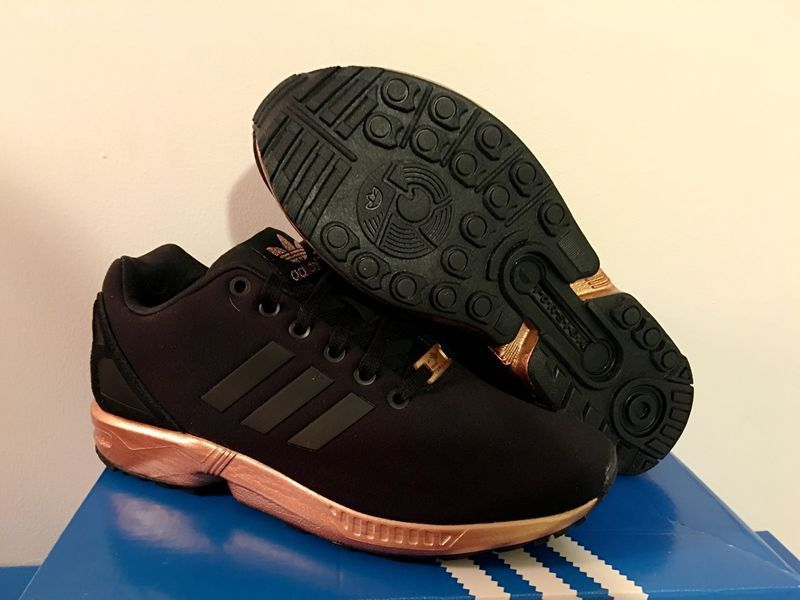 adidas zx flux rose gold sole