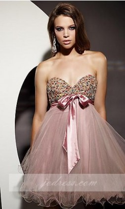 Short terani prom dresses style p188 sweetheart dress on sale in stock!