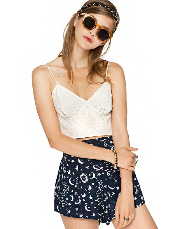 top curte clothes prefall pixie market bustier top transitional pieces pixie market girl