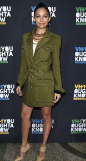 jacket,coat,military style,nicole richie,fall outfits