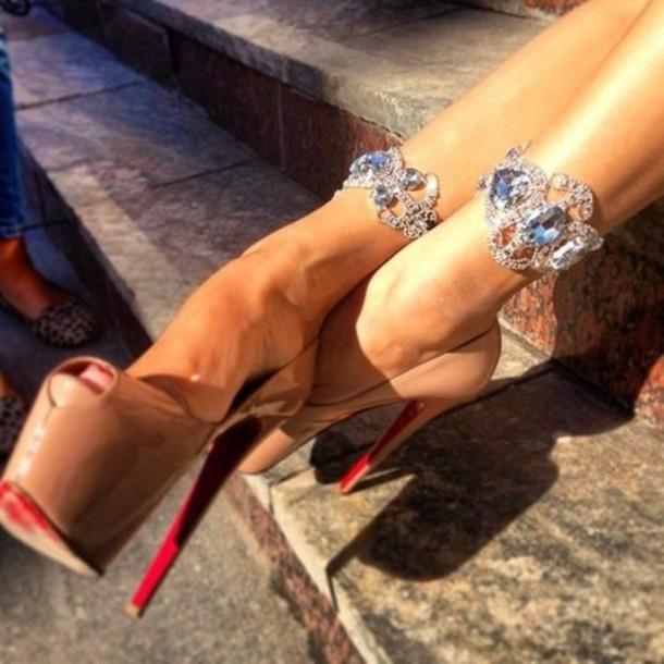 jewels diamonds shoes