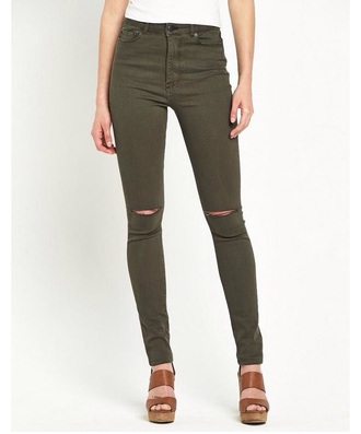 jeans khaki khaki jeans ripped jeans high wasted jeans