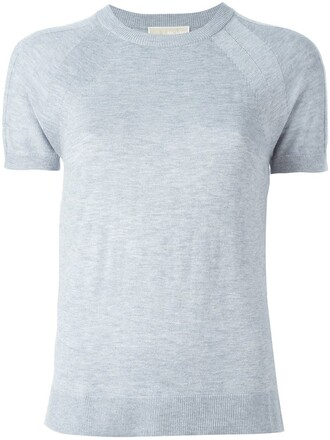 t-shirt shirt women grey top