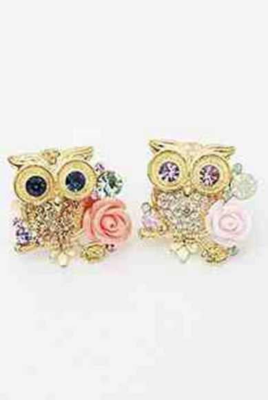 jewels owl ring