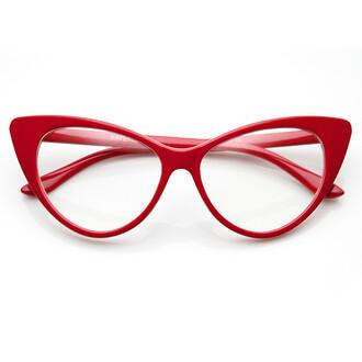 cat eye sunglasses clear frames eyewear red glasses cat eye glasses