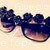 I Love Crafty: D.I.Y - Noir Rose Sunglasses
