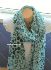 scarf,accessories,women,shawl,floral scarf,floral cowl scarf,soft chiffon scarf,scarve scarf,gift ideas,best selling item,long cowl scarf,mothers day gifts,fashion accessory,women scarves