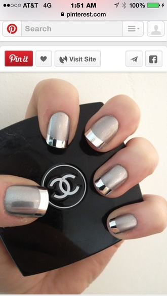 nail accessories coco chanel nail polish prom beauty