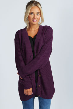 Nicola Knitted Cardigan at boohoo.com
