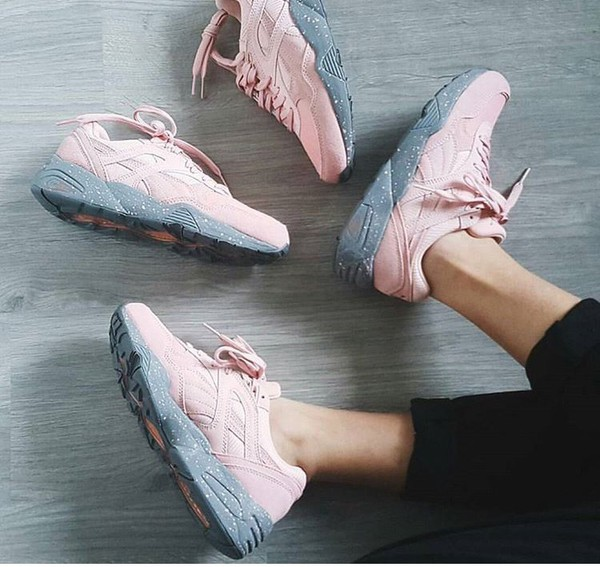PUMA R698 Winterized Sneaker | Women's Coral Cloud Pink