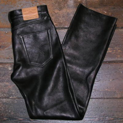 Rakuten: DC-3005 black deer leather straight pants 3005 DC-FLATHEAD-フラットヘッドディアスキンパンツ, flat head leather pants- Shopping Japanese products from Japan