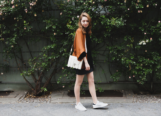 cruel thing blogger top shoes skirt bag
