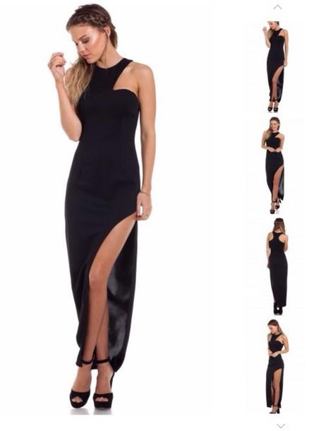 dress black dress bodycon dress gown sexy dress maxi dress