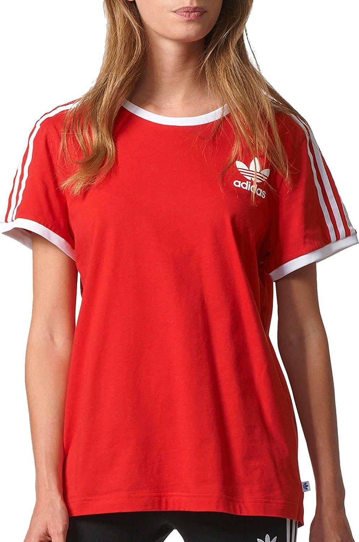 e545073fa Amazon.com: adidas Originals Women's 3 Stripes Tee: Clothing