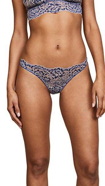 Cosabella thong navy blue underwear