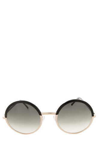 metal sunglasses black